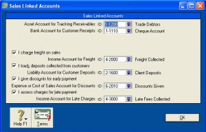 Sales Linked Accounts
