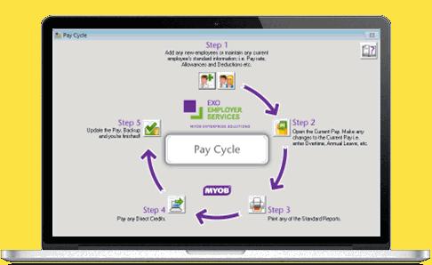 how to add payroll in myob