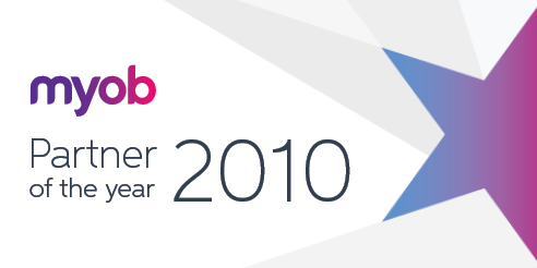 MYOB Partner of the Year 2010